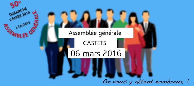 Assemblée générale le 06 mars 2016