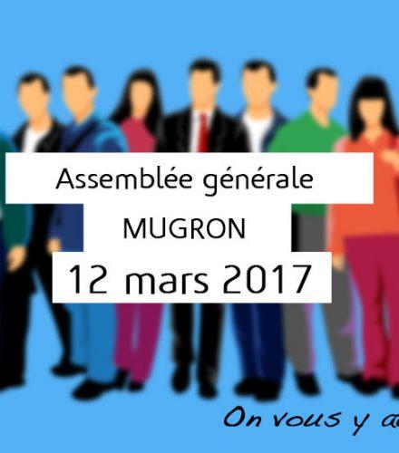 Assemblée générale le 12 mars 2017