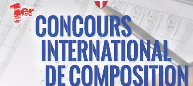 Inscription au 1er Concours International de Composition 2018 organisé par l'UFM74