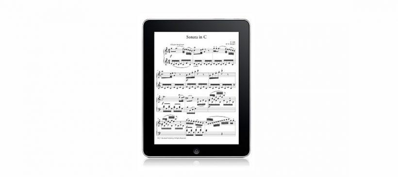 Le développement des partitions numériques dans l'orchestre