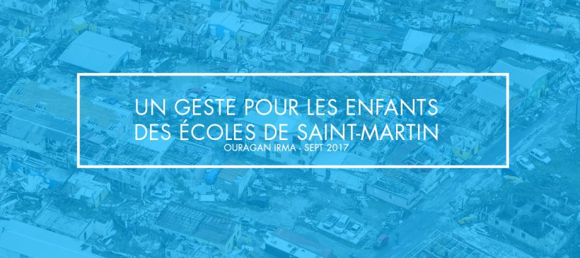 Solidarité avec les enfants de Saint-Martin